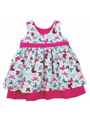 A Flutterby Reversible Dress (avail. 3m - 5yrs)
